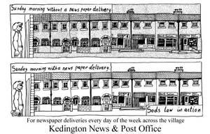 Kedington News flyer 2 -unused by marcony