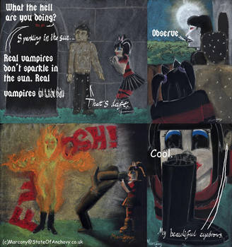 Real Vampiers Burn by marcony