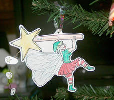 Christmas Tree Fairy Magic by marcony
