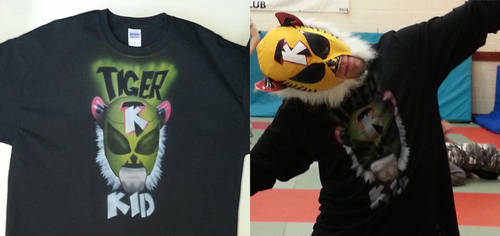 The Tiger Kid T-Shirt by marcony