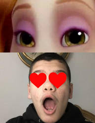 My Reaction To Tina's Eyes by AlmirVelovic