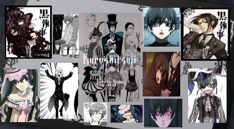 Kuroshitsuji Collage Wallpaper By Soultsukuru On Deviantart