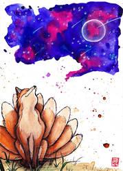 A Fox Dream by Lilith-Samsa