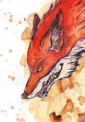 Old fox by Lilith-Samsa