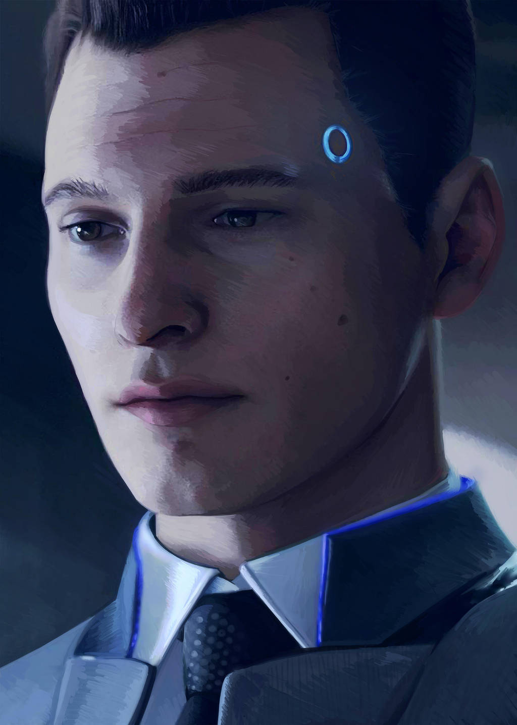 Detroit: Become Human - Connor by PeppermintSchnapps on DeviantArt
