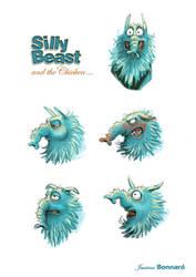 BEAST - expressions 01 by aniBoom-Skylar