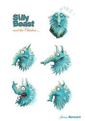 BEAST - expressions 02 by aniBoom-Skylar