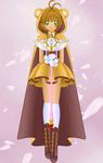 Medieval Sakura [Color] by PrettySoldierPetite
