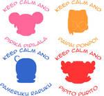 Keep Calm Ojamajos by PrettySoldierPetite