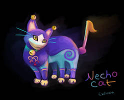 Necho Cat by Exilicca