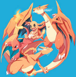 Charizard evolution tier ! by ingoguma
