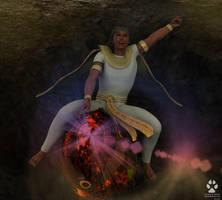 The Pharaoh tames the Comet by Skiriki