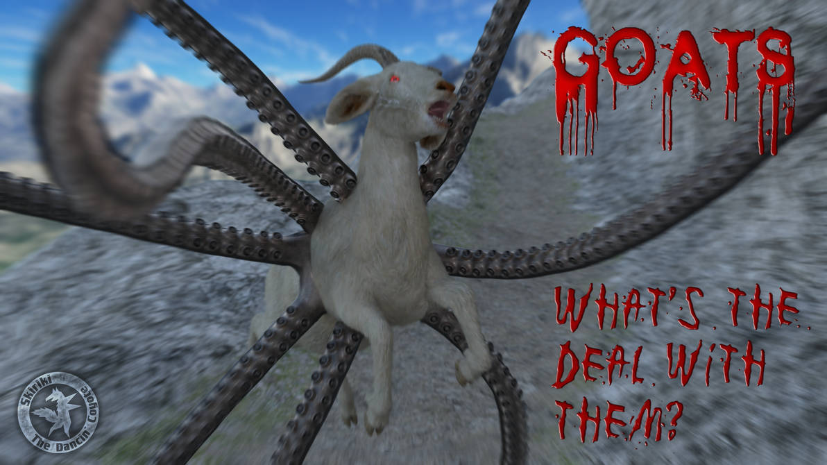 The Secret Lives Of Goats by Skiriki