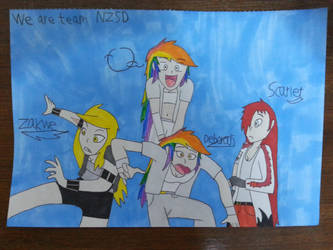 We are team NZSD. by Noa-live-heart