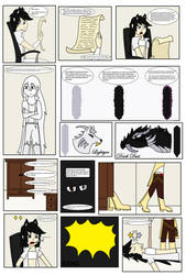 Tickle Comic Page 1 With Text. by Noa-live-heart