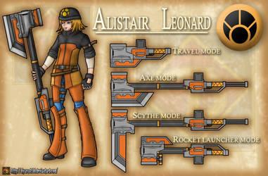 RWBY OC - Alistair Leonard by Diyaru4500
