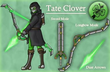 RQ: RWBY OC - Tate Clover by Diyaru4500