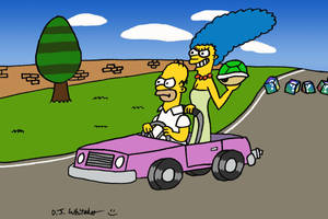 Homer and Marge Double Dash by DJgames