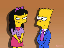 Bart's Girlfriend by DJgames