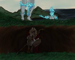 The Hunt- Chimera of Desolation by TigerUchimaru