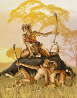 Cheetah Pride by cursed-sight