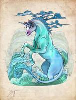 Last Unicorn by cursed-sight