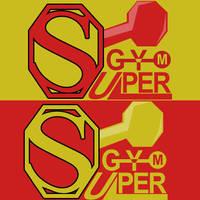 SuperGYM Logo by AHDesigner