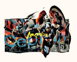 Captian America by AHDesigner