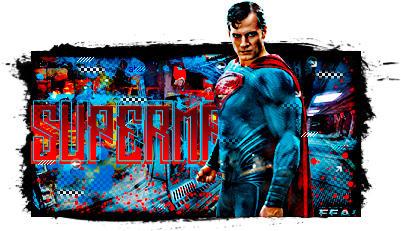 Superman by AHDesigner