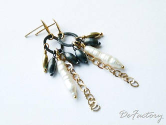 Pearl Sticks by SilverDeFactory