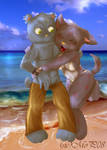 Beach Hug by sicMoP