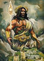 Heliod, God of the Sun by deWitteillustration