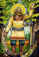 Freyr by deWitteillustration