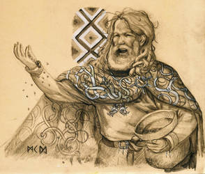 Ingve-Freyr by deWitteillustration