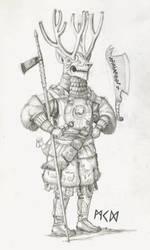 Warlord of Herigaturi by deWitteillustration