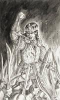 Oath of Feanor by deWitteillustration