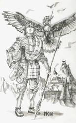 Warhammer Albion - Buddug of the Toulenii by deWitteillustration