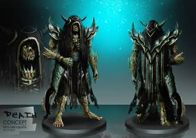 Four horsemen of the Apocalypse - DEATH by orochi-spawn
