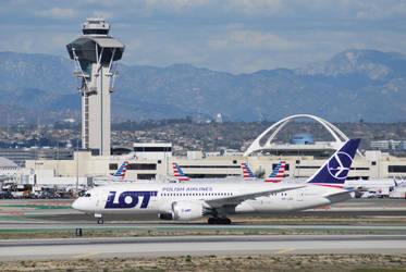 LOT (SP-LRG) at LAX by IFlySNA94