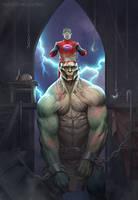 Frankenstein's Monster by Monsieur-Beefy
