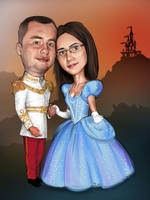 wedding invitation by Florin-Chis