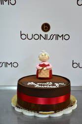 Grandma fondant cake by Florin-Chis