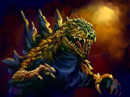 Godzilla by Grimbro