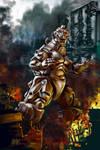 13 Nights 2012 Mechagodzilla by Grimbro