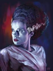 13 NoH day 5 The Bride of Frankenstein by Grimbro