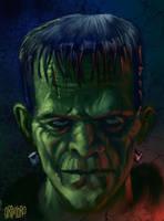 SPEED PAINT 'Frankenstein' by Grimbro