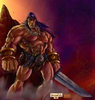 Conan a Red J creation by Grimbro