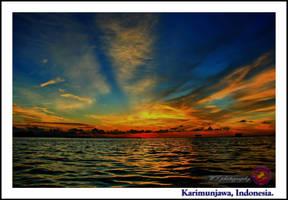 SUNSET at KARIMUNJAWA 4 by DABLEKZ