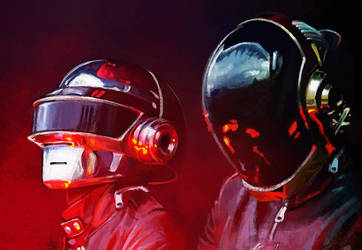 Daft Punk by Peivi