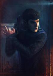 Spock by Peivi